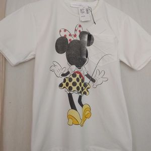 Victoria Beckham Italian made Mini Mouse T-shirt